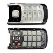 Nokia 2720f Крышка с клавиатурой черная, 0255417 (оригинал)