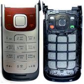 Nokia 2720f Крышка с клавиатурой красная, 0255419 (оригинал)