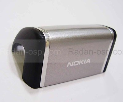 Nokia 6125 Крышка антенная серебристая, 0256052 (оригинал)