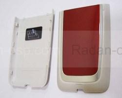 Nokia 6125 Крышка батарейная красная, 0256312 (оригинал), radan-osp.com - оригинальные комплектующие, фото