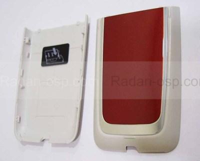 Nokia 6125 Крышка батарейная красная, 0256312 (оригинал)