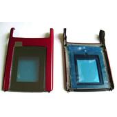 Nokia N76 Крышка малого дисплея красная, 0256354 (оригинал)