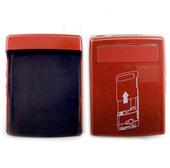 Nokia N76 Крышка батарейная красная, 0256365 (оригинал)
