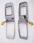 Nokia 6103 Кришка внутрішня срібляста, 0256419 (оригінал)