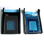 Nokia N76 Крышка малого дисплея черная, 0256521 (оригинал)