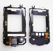 Nokia 7390 Основа верхнего флипа черная, 0256607 (оригинал)