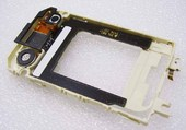 Nokia 7390 Основа верхнего флипа белая, 0256608 (оригинал)