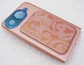 Nokia 7390 Крышка батарейная розовая, 0256612 (оригинал)