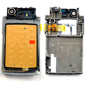 Nokia N76 Крышка верхняя нижнего флипа, 0256617 (оригинал)