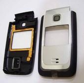 Nokia 6125 Панель передняя серебристая, 0256704 (оригинал)