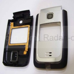 Nokia 6125 Панель передняя серебристая, 0256704 (оригинал), radan-osp.com - оригинальные комплектующие, фото