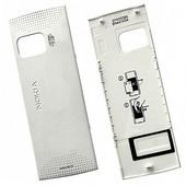 Nokia X6-00 Крышка батарейная белая, 0257080 (оригинал)