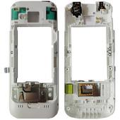 Nokia C5-00 3/ 2 MP/ C5-00 5MP Панель средняя (основа) белая, 0257374 (оригинал)