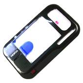 Nokia 6760s Панель передняя черная, 0257418 (оригинал)