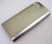 Nokia C3-01 Крышка задняя серебристая, 0257474 (оригинал)