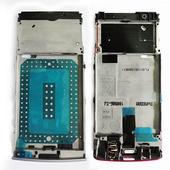 Nokia X3-02 Основа дисплейная лиловая, 0257578 (оригинал)