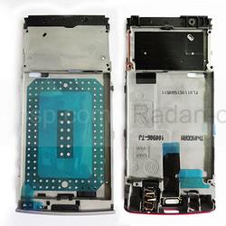 Nokia X3-02 Основа дисплейная лиловая, 0257578 (оригинал), radan-osp.com - оригинальные комплектующие, фото