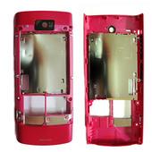 Nokia X3-02 Крышка задняя розовая, 0257580 (оригинал)