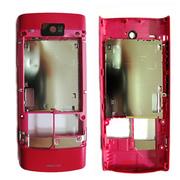 Nokia X3-02 Кришка задня рожева, 0257580 (оригінал)