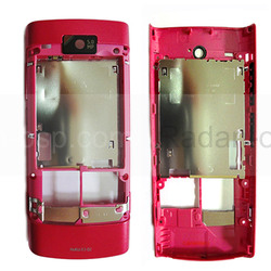 Nokia X3-02 Крышка задняя розовая, 0257580 (оригинал), radan-osp.com - оригинальные комплектующие, фото