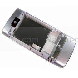 Nokia X3-02 Крышка задняя лиловая, 0257581 (оригинал), radan-osp.com - оригинальные комплектующие, фото