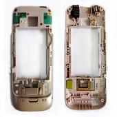 Nokia C5-00 Панель средняя (основа) розовая, 0257931 (оригинал)