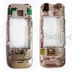 Nokia C5-00 Панель средняя (основа) розовая, 0257931 (оригинал), radan-osp.com - оригинальные комплектующие, фото