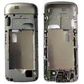Nokia C3-01 Панель средняя (основа) бледное золото, 0258395 (оригинал)