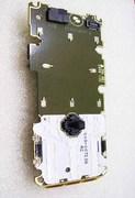 Nokia 3230 Плата с камерой, джойстиком и мембраной клавиатуры, 0263747 (оригинал)