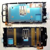 Nokia X6-00 Основа дисплейная с проклейкой дисплея, 0264973 (оригинал)
