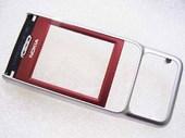 Крышка передняя Nokia 3230 красная, 0266798 (оригинал)