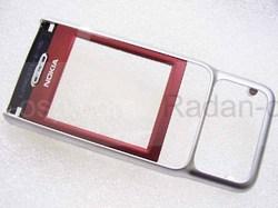 Крышка передняя Nokia 3230 красная, 0266798 (оригинал), radan-osp.com - оригинальные комплектующие, фото