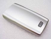 Nokia 1100/ 1101 Крышка батарейная светло-серебристая, 0266997 (оригинал)