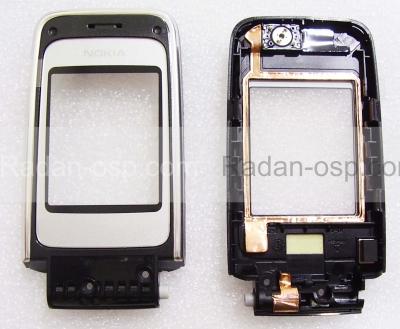 Панель со стеклом и передней крышкой дисплея Nokia 6125, 0268172 (оригинал)