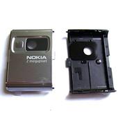 Nokia 6233 Панель камеры, Dark Silver Classic, 0269309 (оригинал)