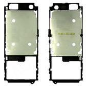 Sony C702 Средняя часть корпуса с металлическим экраном, Black, 1203-1853 (оригинал)