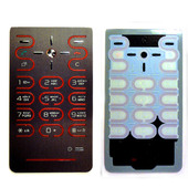 Sony Z770I Клавиатура набора номера русс./ лат, Red, 1205-3597 (оригинал)