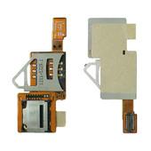 Sony W902 Комбинированный считыватель SIM/ MMC карт, 1206-1373 (оригинал)