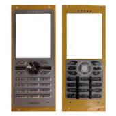 Sony R300 Клавиатура набора номера русс./ лат., Silver, 1208-4122 (оригинал)