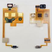 Sony W508 Шлейф верхний с динамиком, виброзвонком и подсветкой, 1215-9205 (оригинал)