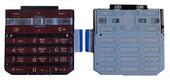 Sony G502 Клавиатура набора номера русс./ лат., Red, 1221-3601 (оригинал)
