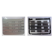 Sony C903 Клавиатура набора номера русс./ лат., Silver, 1222-1952 (оригинал)