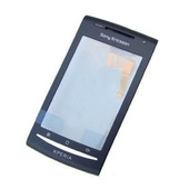 Sony Xperia X8 E15i Передняя панель корпуса с сенсорным стеклом, 1241-9399 (оригинал)