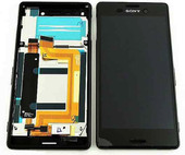 Дисплей с сенсором в сборе SingleSIM Sony Xperia M4 Aqua E2303 (Black), 124TUL0011A (оригинал)