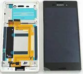 Дисплей с сенсором SS Sony Xperia M4 Aqua E2303 (Silver), 124TUL0013A (оригинал)
