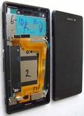 Дисплей с сенсором DS Sony Xperia M4 Aqua Dual E2312/ E2333/ E2363 (Black), 124TUL0015A (оригинал)