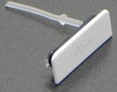 Sony Xperia Go ST27i Заглушка разъема MicroUSB, White, 1262-1940 (оригинал)