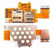 Sony SGP311/ SGP312/ SGP321 Разъем SIM и MicroSD, на плате, 1266-2014 (оригинал)
