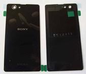 Крышка аккумулятора Sony Xperia Z1 Compact D5503 Black, 1275-4831 (оригинал)