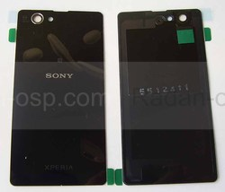 Крышка аккумулятора Sony Xperia Z1 Compact D5503 Black, 1275-4831 (оригинал), radan-osp.com - оригинальные комплектующие, фото